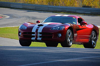 Photograph - Lrdc Dodge Viper by Mike Martin