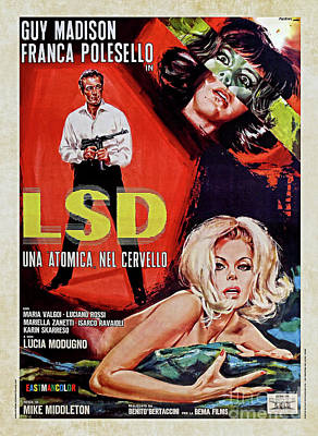 Photograph - Lsd Flesh Of The Devil 1967 by Doc Braham
