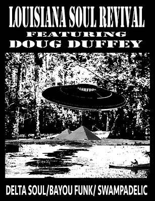 Digital Art - Lsrfdd  Alien Swamp by Doug Duffey