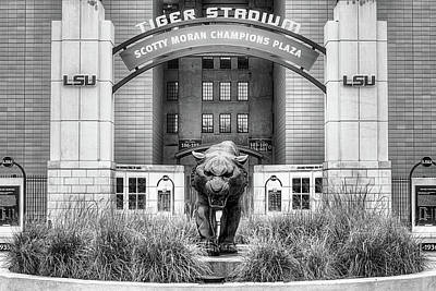 Louisiana State University Photograph - Lsu Tiger Stadium by JC Findley