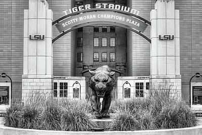 Lsu Tiger Stadium Art Print