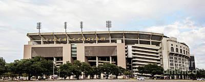 Photograph - Lsu Tiger Stadium Panorama - Pov 1 by Scott Pellegrin