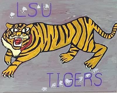 Lsu Tigers Original by Jonathon Hansen
