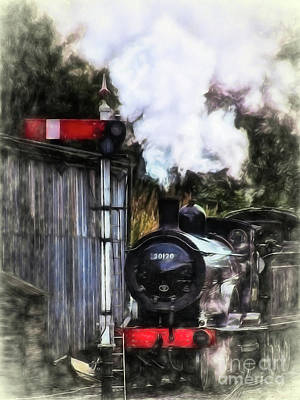 Mixed Media - Lswr T9 Class 30120 by Linsey Williams