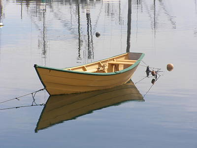 Lttle Row Boat Art Print by Frederic Durville
