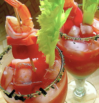 Bloody Mary Photograph - Luau Bloody Mary by James Temple