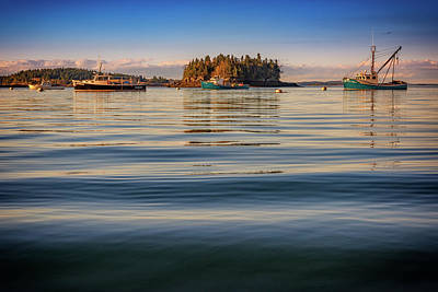 Photograph - Lubec Harbor by Rick Berk