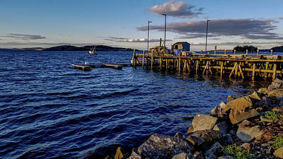 Photograph - Lubec, Maine - Johnson Bay From Inn On The Wharf by Marilyn Burton