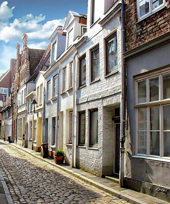Photograph - Lubeck Residential Houses by Anthony Dezenzio