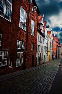Lubeck Photograph - Lubeck Street by Harry Spitz