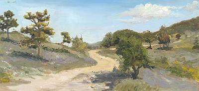 Wall Art - Painting - Luberon Trail by Katherine Farrell