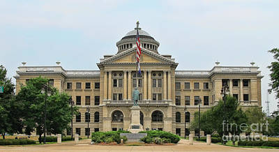 Lucas County Courthouse  9458 Art Print by Jack Schultz