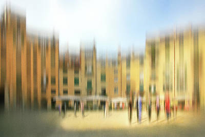 Lucca Ampitheatre Impression 1 Art Print by Marty Garland