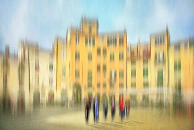 Lucca Ampitheatre Impression 2 Art Print by Marty Garland