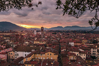 Lucca In Tuscany Art Print