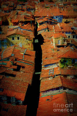 Photograph - Lucca Rooftops by Stuart Row