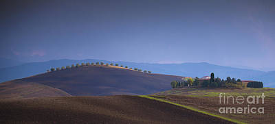 Terra Photograph - Luce Su I Colli by Marco Crupi