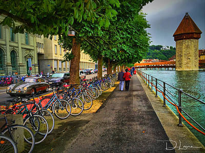 Photograph - Lucern Stroll by David A Lane