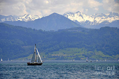 Photograph - Lucerne 11 by Andrew Dinh