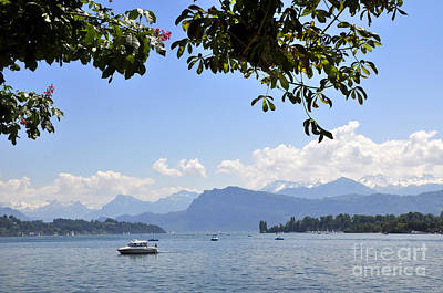 Photograph - Lucerne 13 by Andrew Dinh