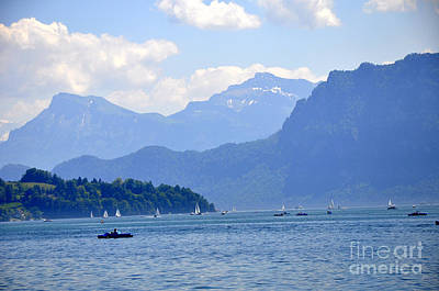 Photograph - Lucerne 14 by Andrew Dinh