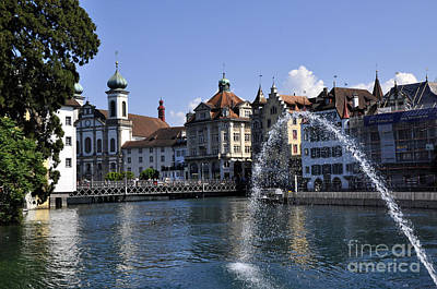 Photograph - Lucerne 2 by Andrew Dinh