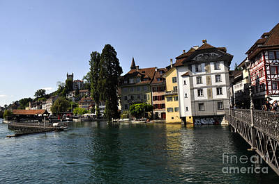 Photograph - Lucerne 3 by Andrew Dinh