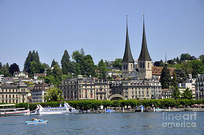 Photograph - Lucerne 4 by Andrew Dinh