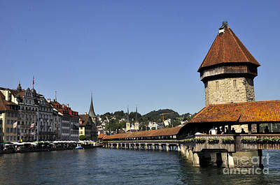 Photograph - Lucerne 5 by Andrew Dinh