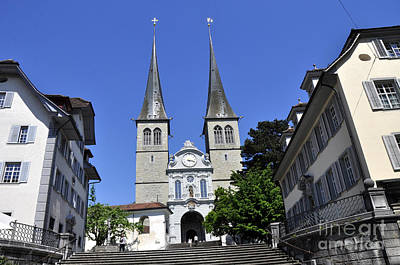 Photograph - Lucerne 8 by Andrew Dinh