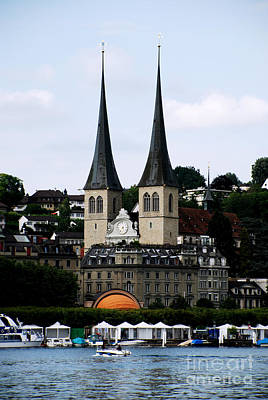 Lucerne Cathedral Art Print