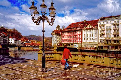 Photograph - Lucerne Spring by Tom Jelen