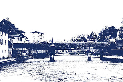 Photograph - Lucerne2 by Lali Kacharava