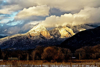 Photograph - Flatirons Near Lucero Peak by Robert Woodward