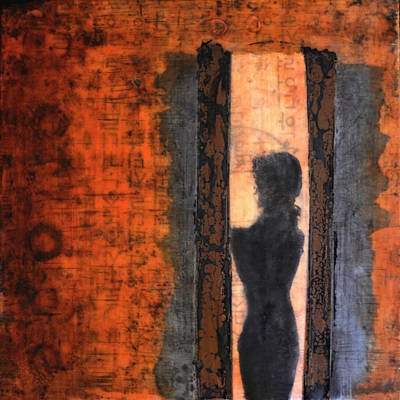 Mixed Media - Lucia And The Light II by Eliaichi Kimaro