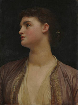 Painting - Lucia by Frederic Leighton