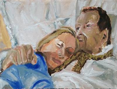 Inner World Painting - Lucian And Kate I by Bachmors Artist