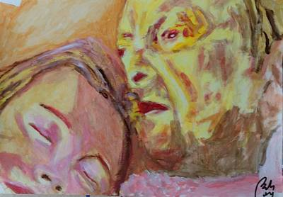 Inner World Painting - Lucian And Kate V by Bachmors Artist