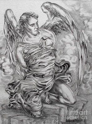 Drawing - Lucifer Bound by Gary Renegar