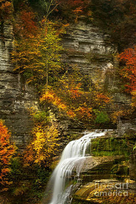 Lucifer Falls Print by Todd Bielby