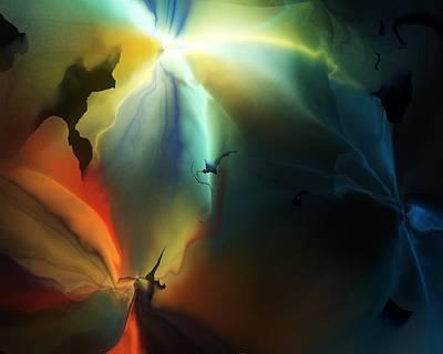 Digital Art - Lucifer's Fall by David Lane