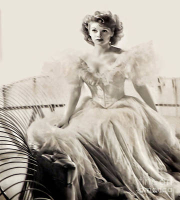Photograph - Lucille Ball by Joan Minchak