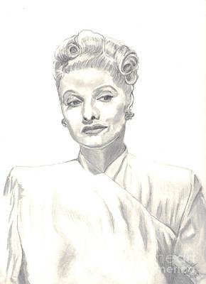 Lucille Art Print by Carol Wisniewski
