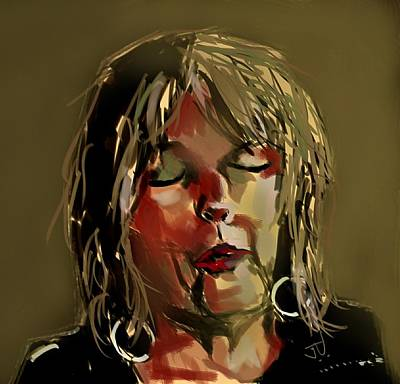 Painting - Lucinda Williams  by Jim Vance