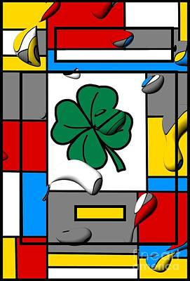 Digital Art - Luck By Nico Bielow by Nico Bielow