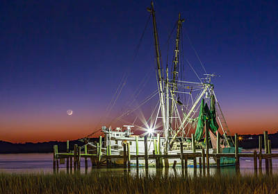 Photograph - Luck Chalm At Dusk by Donnie Whitaker