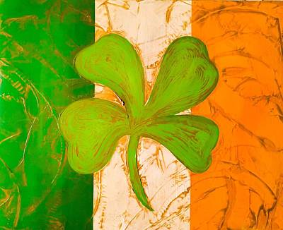 Furniture Store Painting - Luck Of The Irish by Barry Knauff