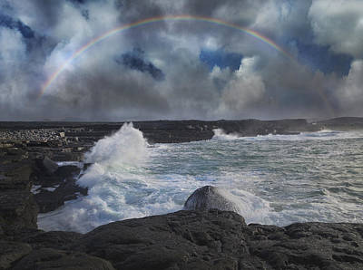 Irish Photograph - Luck Of The Irish Inis Mor by Betsy Knapp