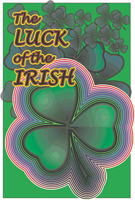 Digital Art - Luck Of The Irish by Sherril Porter