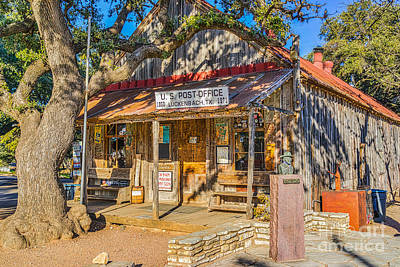 Landmarks Photograph - Luckenbach General Store by Tod and Cynthia Grubbs